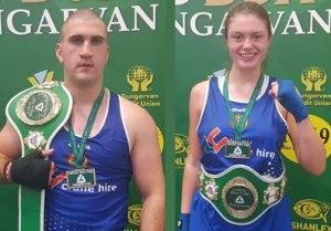 Rathkeale Boxing Club, Martin Keenan, Nell Fox
